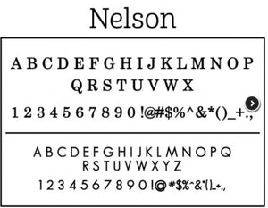 Personalized Stamper-Nelson Design