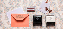 Personalized Rectangle Stamper- Lindsay Design