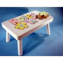 Step Stool- Flower/Butterfly Motif (Click to see more options)