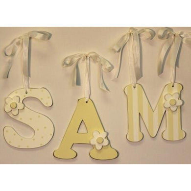 Wall Letters- Sam
