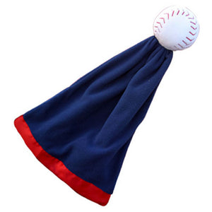 Snuggle Ball Baseball Blanket