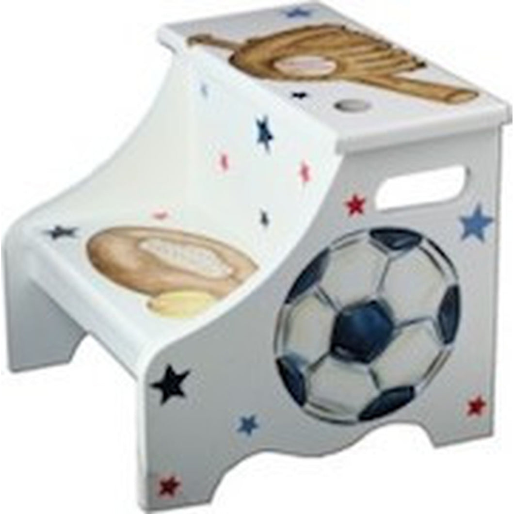 Step Stool- Vintage All Sports