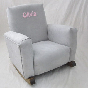 Upholstered Rocker (Click to see more colors and styles)