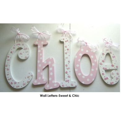 Wall Letters-Sweet and Chic
