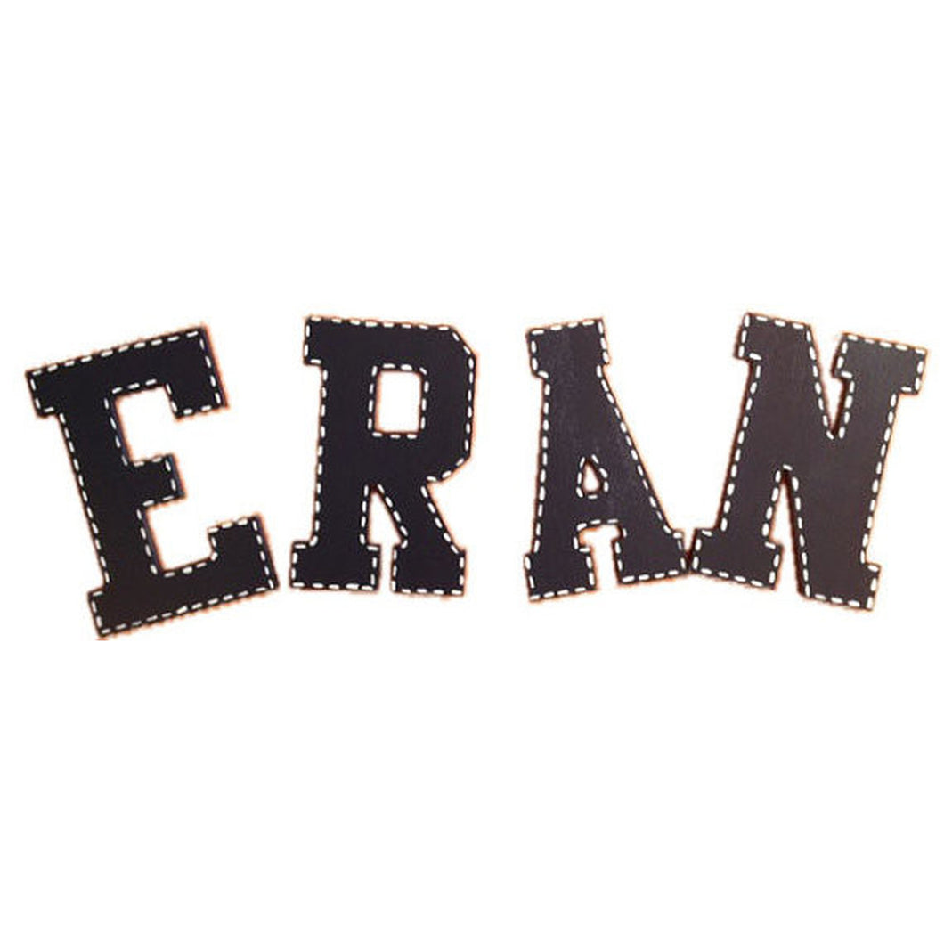 Wall Letters-Solid with Stitching