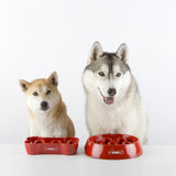 inooko - Slow feeder bowl for small medium dogs