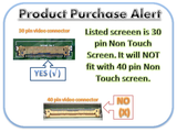 "Toshiba Satellite P50-ast2gx1 Replacement LAPTOP LCD Screen 15.6"" Full-HD LED DIODE (Substitute Only. Not a )"