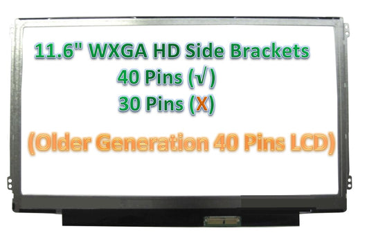 11.6' LCD LED Display Screen For Sony VPC-YB16KG VPC-YB2M1E VPC-YB35AH VPC-YB35KX