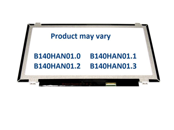 "NEW REPLACEMENT AU OPTRONICS B140HAN01.2 14.0"" LAPTOP LED FHD SCREEN 1920 x 1080"