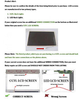 "15.6"" LED LCD Screen LTN156AT01 or equivalent Laptop Display"