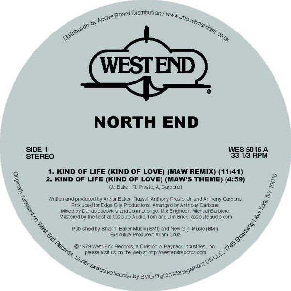 North End - Kind Of Life (Masters At Work Remix)