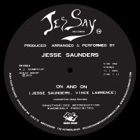 JESSE SAUNDERS - ON & ON - RUSH HOUR RSS