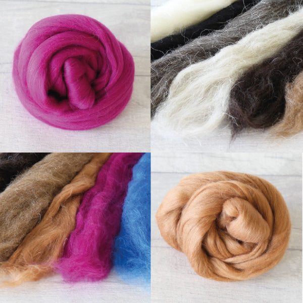 Which wool do you need for needle felting? A beginner's guide