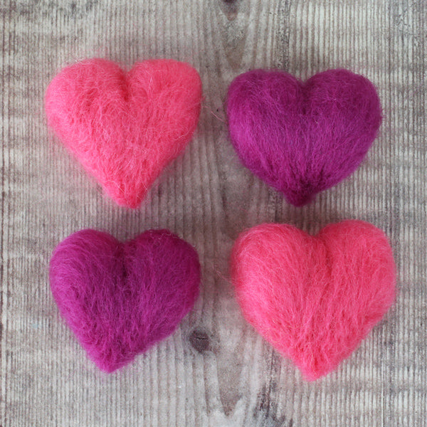Needle Felted Heart Tutorial