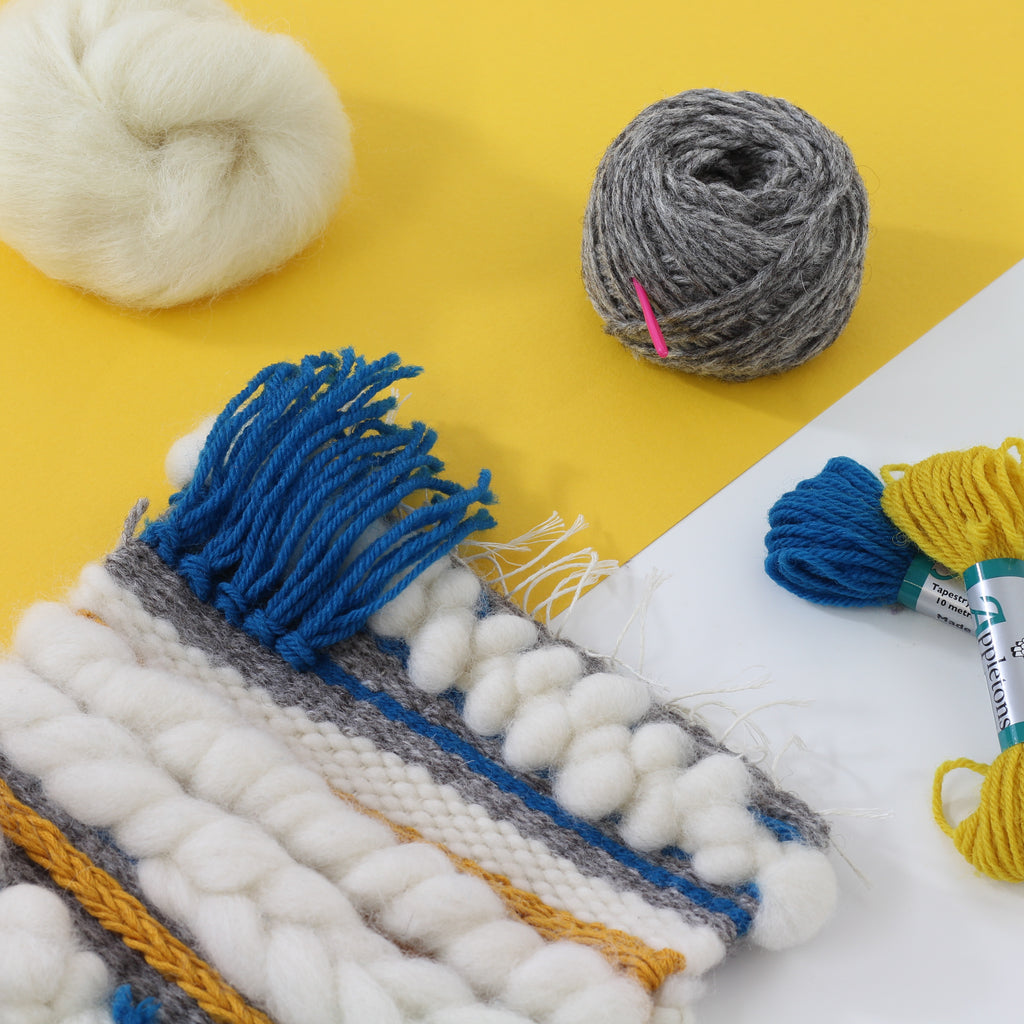 Spotlight Product - Weaving Supply Pack Teal & Mustard