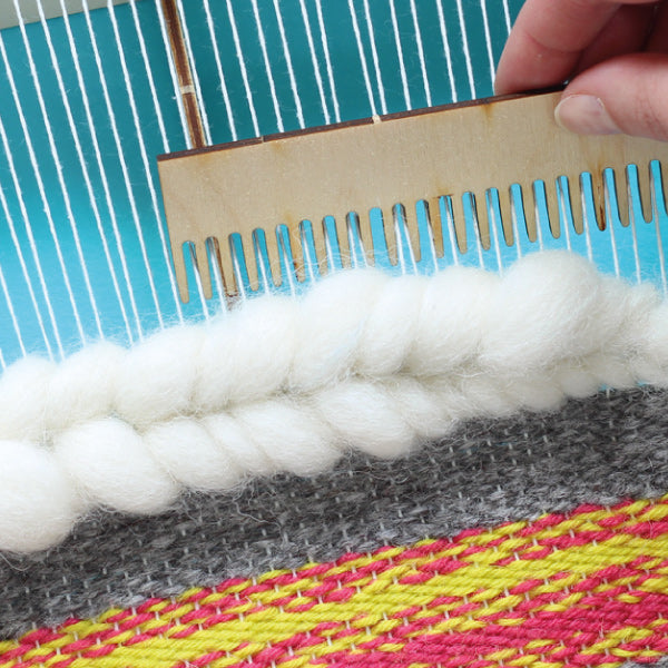 8 Essential weaving tools every beginner should have to hand - Comb