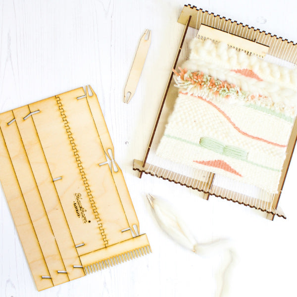8 Essential weaving tools every beginner should have to hand - Hawthorn Handmade Pop-Up Loom