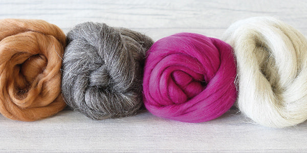 A guide to wool for needle felting for beginners