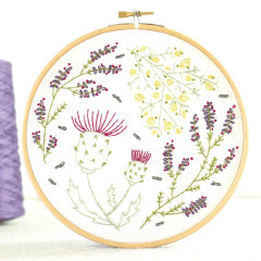 Hawthorn Handmade contemporary Botanical Embroidery kits