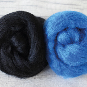 Hawthorn Handmade Blue Faced Leicester Wool for Needle Felting