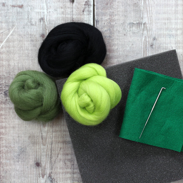 Hawthorn Handmade Needle Felting Avocado Tutorial