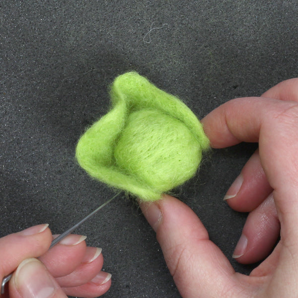 Needle Felted Sprouts - hawthorn Handmade Tutorial