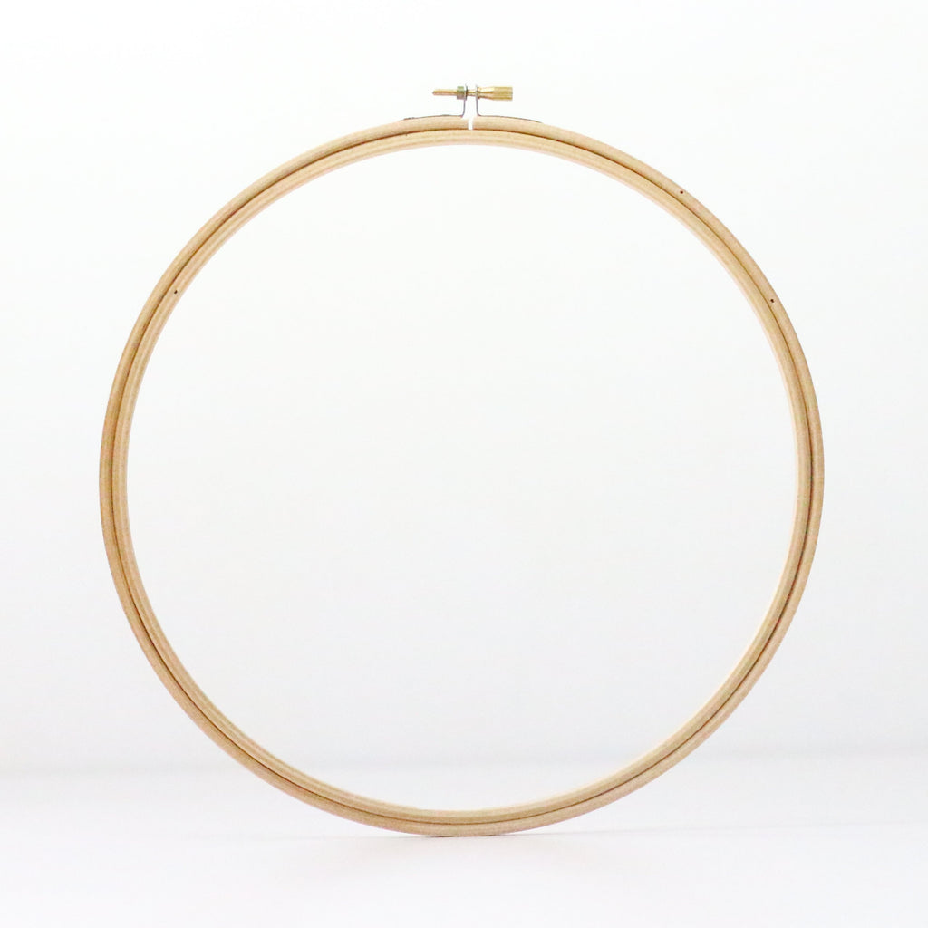 "10"" Wooden Embroidery Hoop"