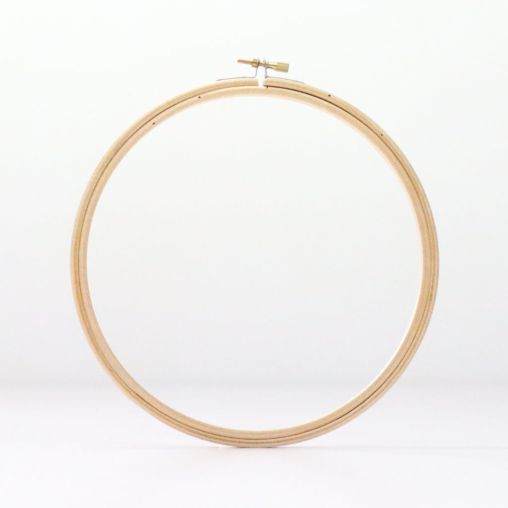 "7"" Wooden Embroidery Hoop"