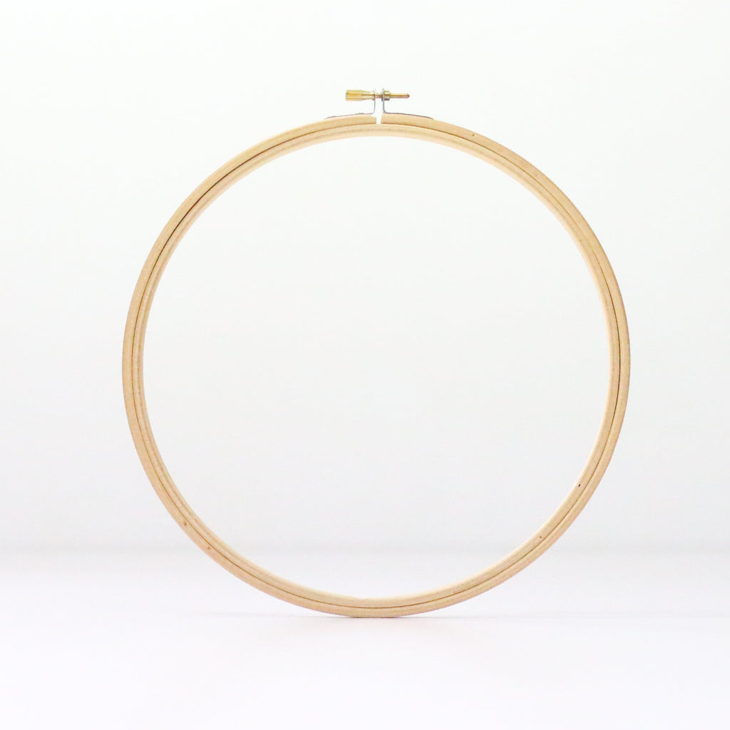 "8"" Wooden Embroidery Hoop"