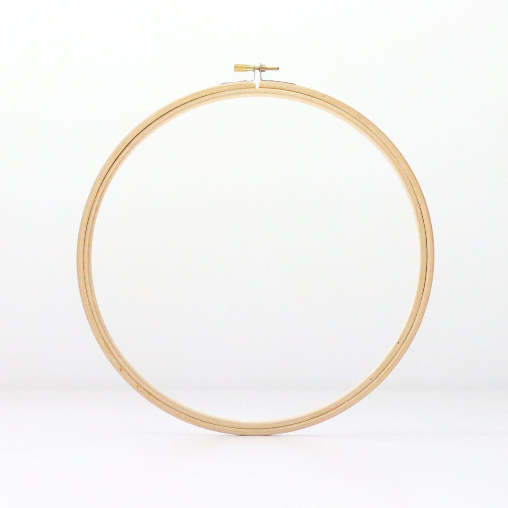 "9"" Wooden Embroidery Hoop"