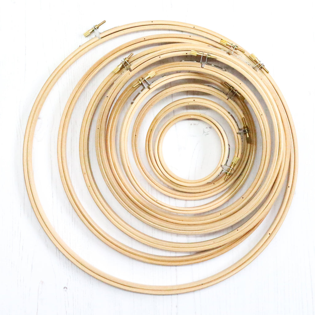 Wooden Embroidery Hoop 12""
