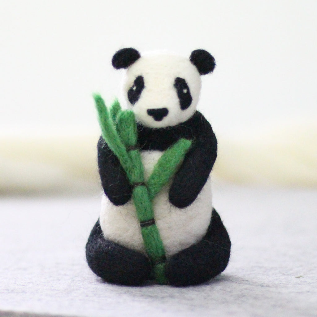 Giant Panda Needle Felting Kit