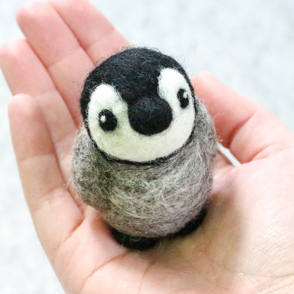 Baby Penguin Felting Kit