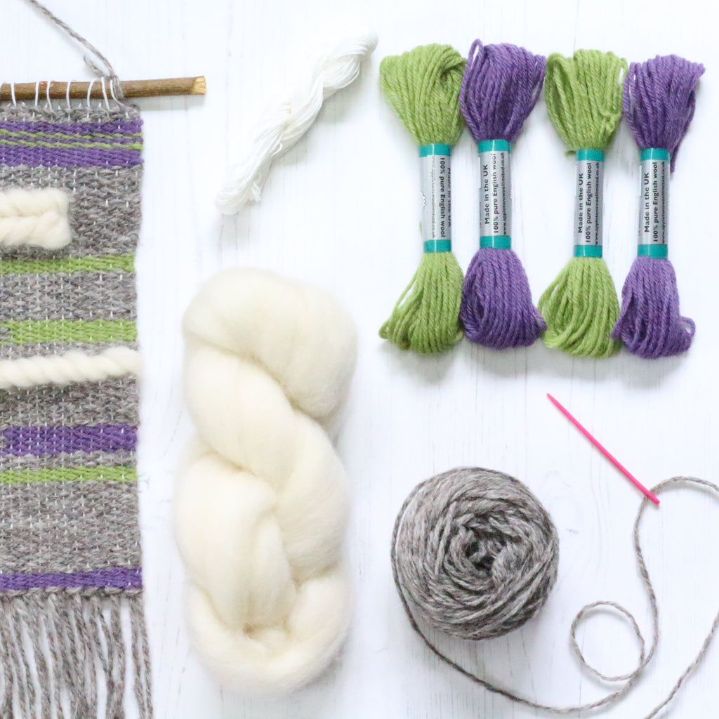 Weaving Kit - Heather & Moss Supply Pack Contents