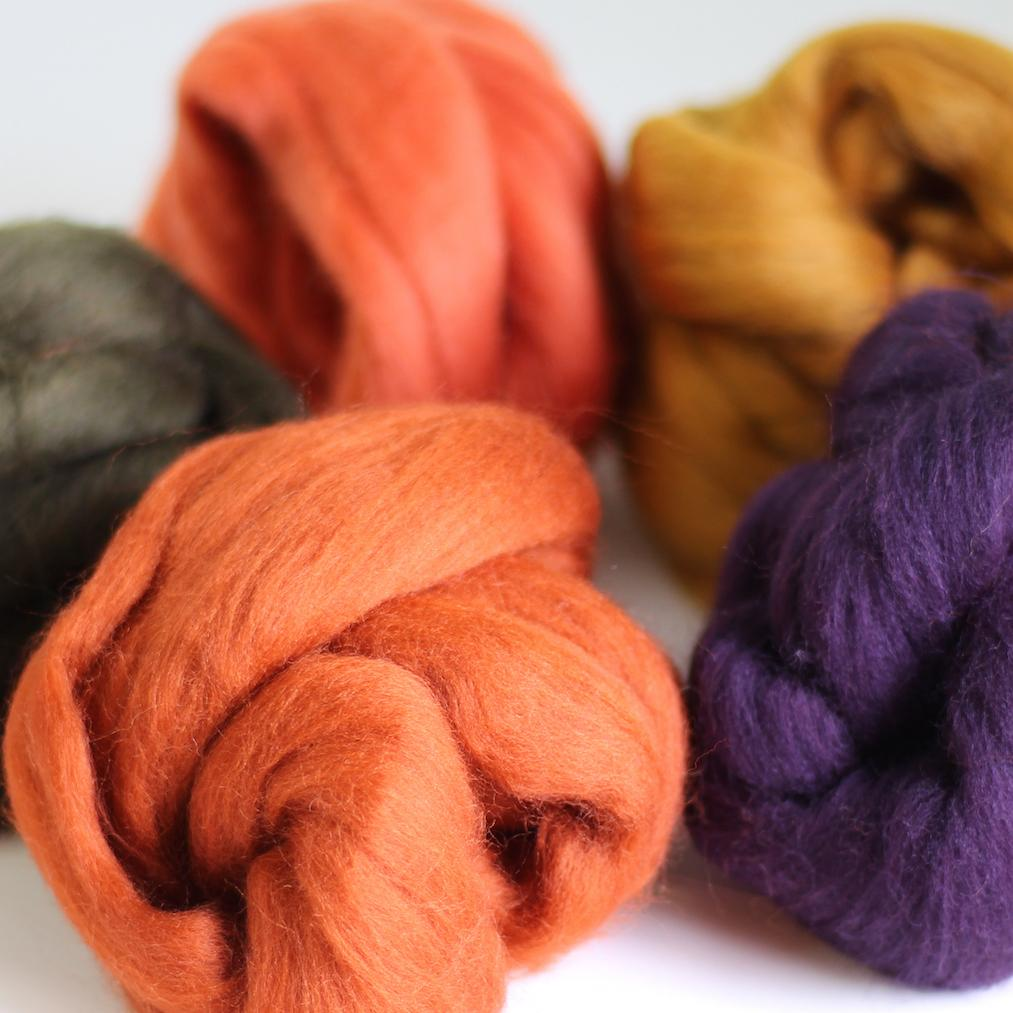 Autumn Wool bundle out of packaging