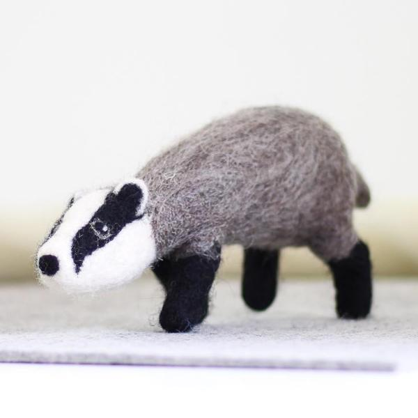 Badger Needle Felting Kit