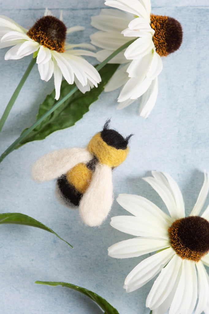 Bee Brooch Felting Kit