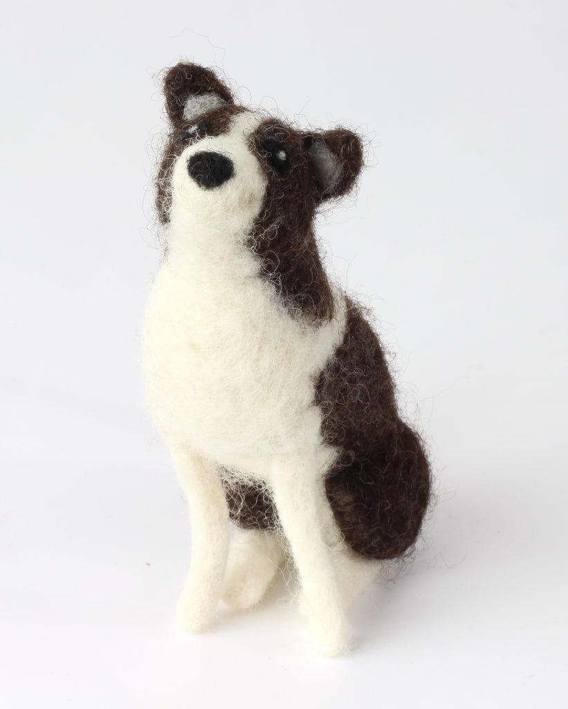 Border Collie Needle Felting Kit