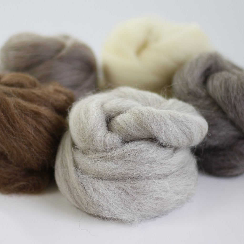 British Breeds Wool Bundle No.1 Contents