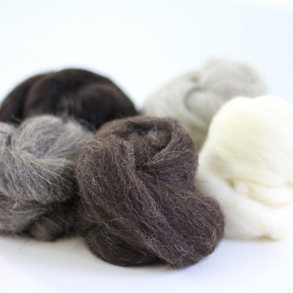 British Breads Wool Bundle No.3 Contents
