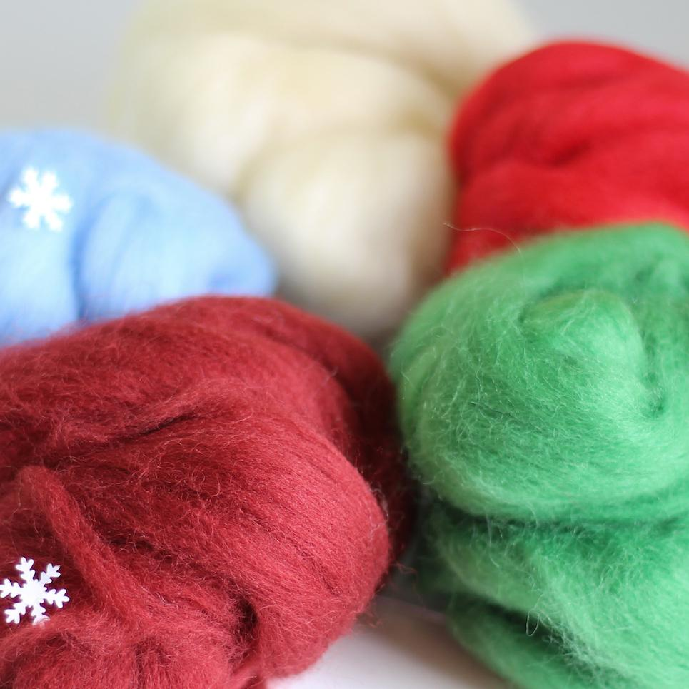 Christmas Wool Craft Bundle