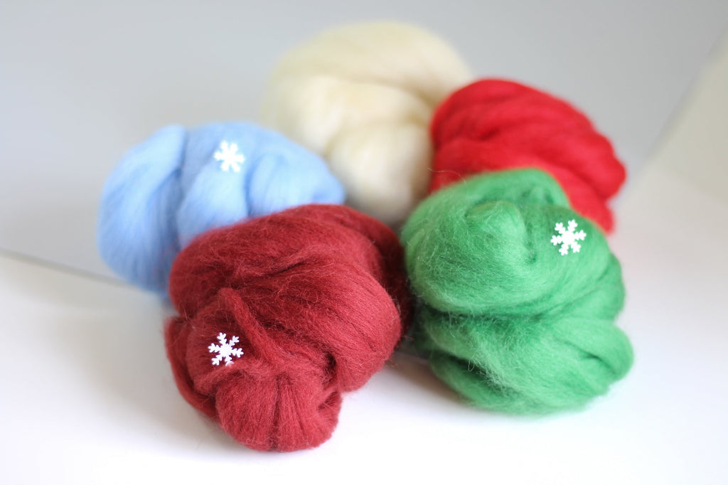 Christmas Wool Creativity Bundle Contents