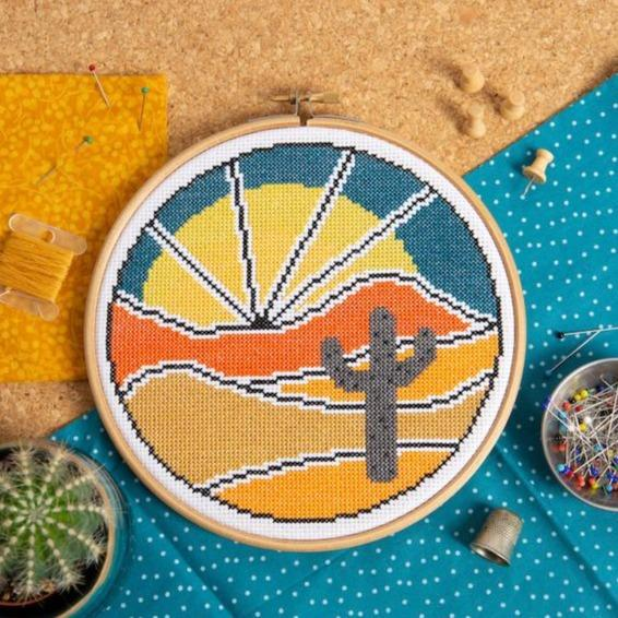 Desert Escape Cross Stitch Kit