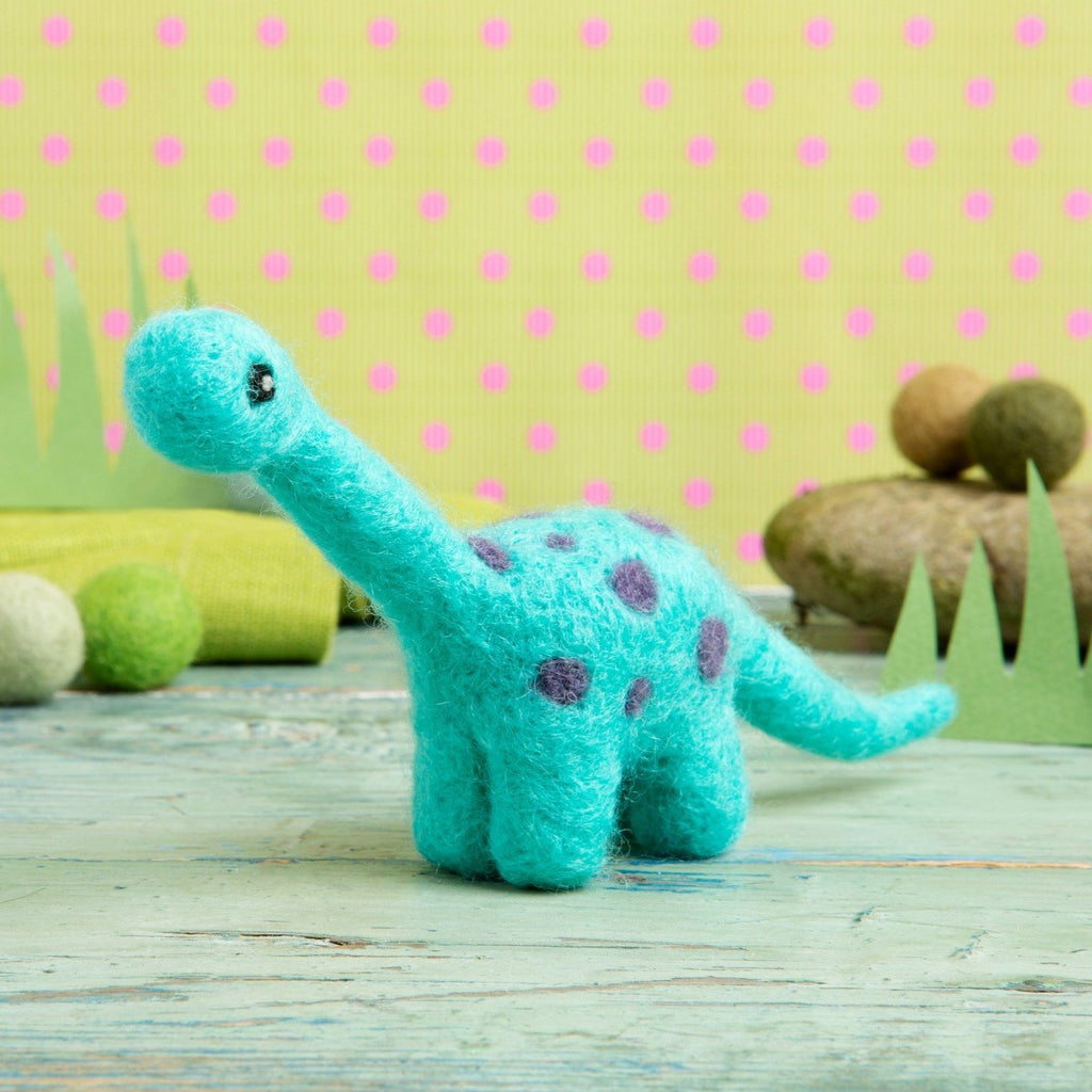 Diplodocus Mini Needle Felting Kit