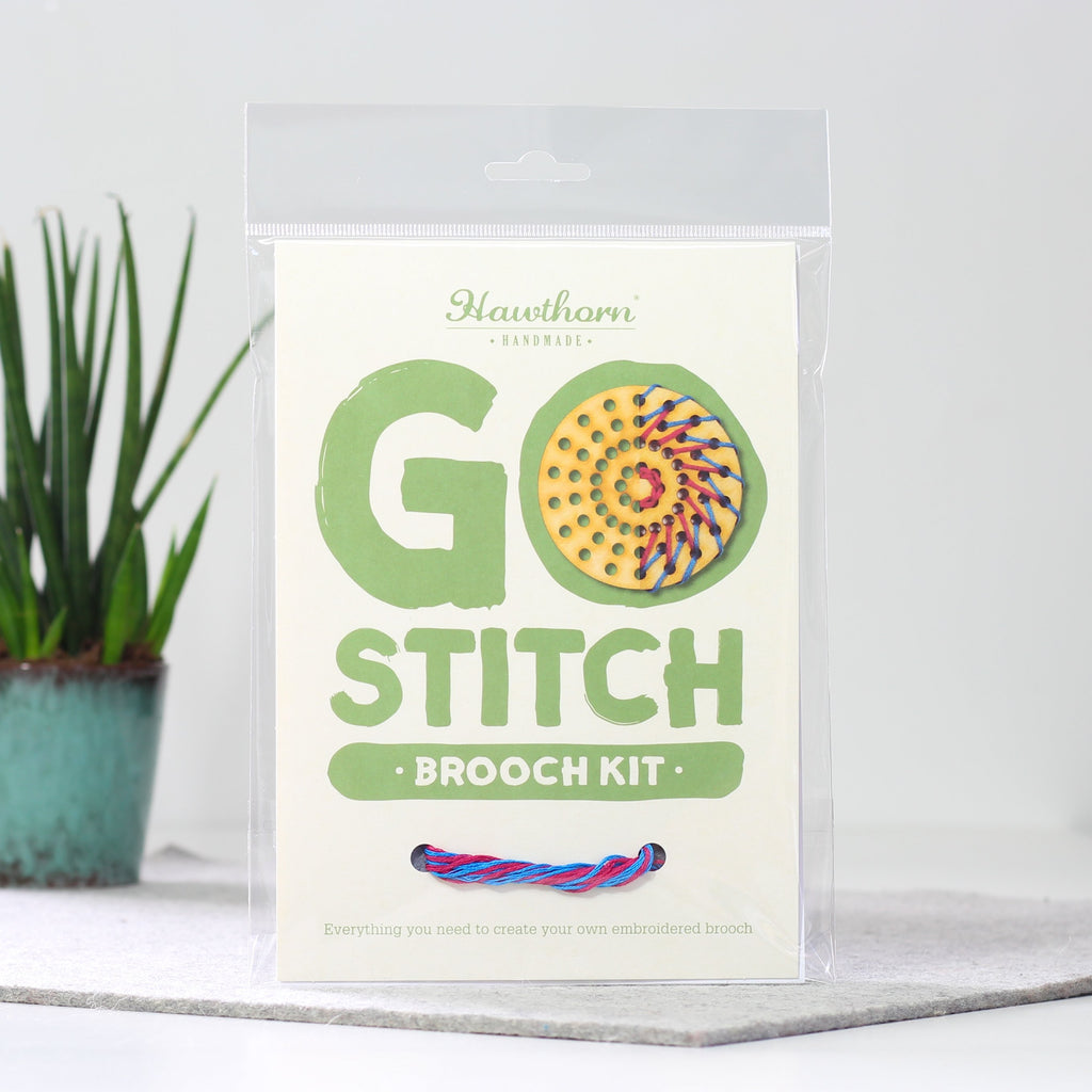 Go Stitch - Brooch Kit