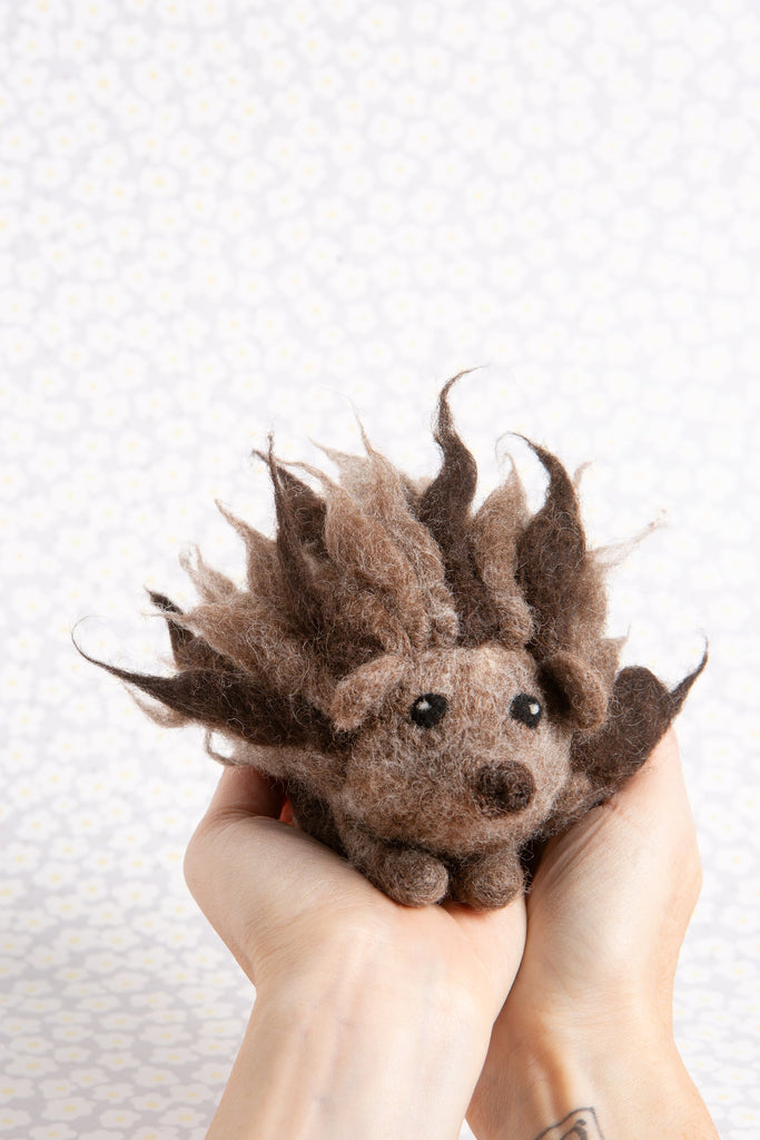 Hedgehog Felting Kit