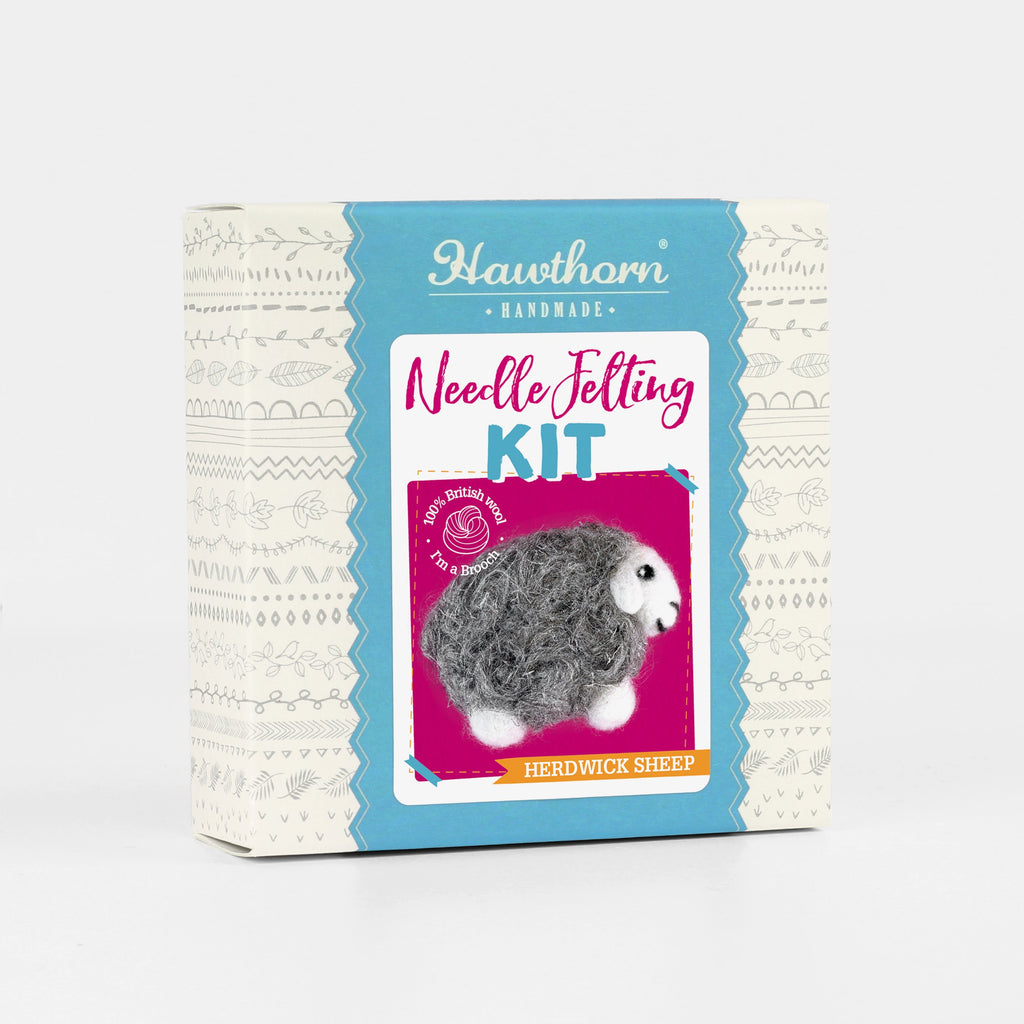 Herdwick Sheep Brooch Craft Kit