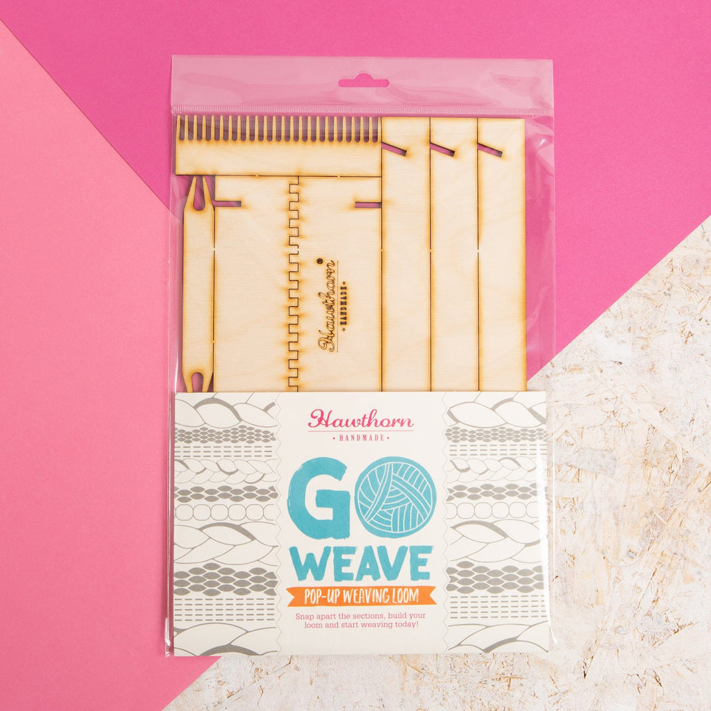 Pop-up Weaving Loom