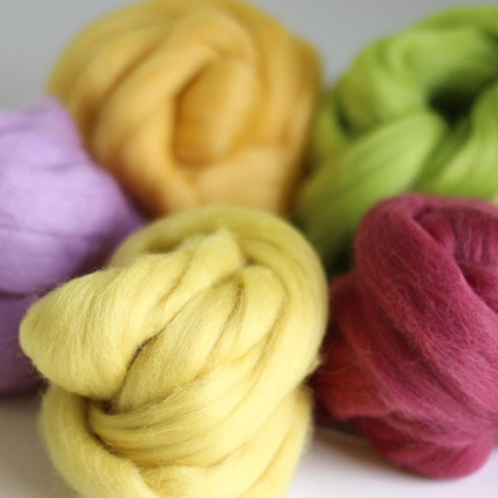 Spring Wool Craft Bundle