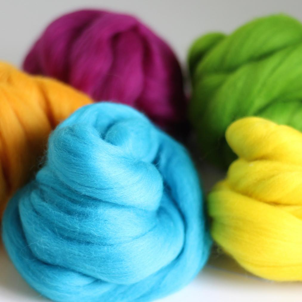 Summer Colours Wool Bundle